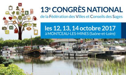 Programme du congrès de la Fédération des Villes et Conseils des Sages ®
